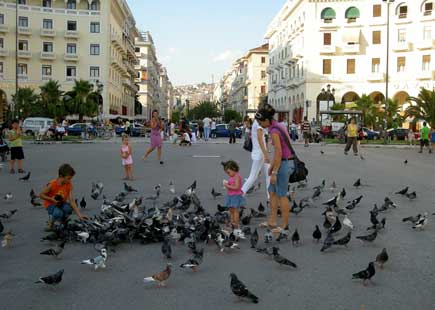 Aristotelous Square in Thessaloniki
