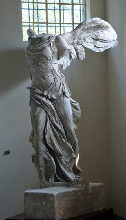 The Winged Victory of Samothrace