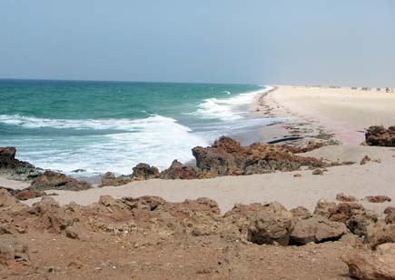 Beach at Ras al Hadd